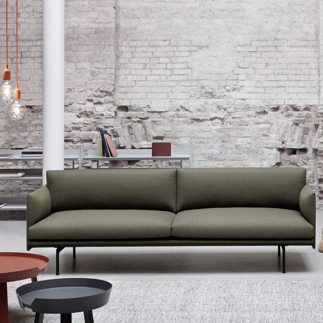 Muuto Outline Sofa Modern Leather Sofa Best Sofa Elegant Sofa