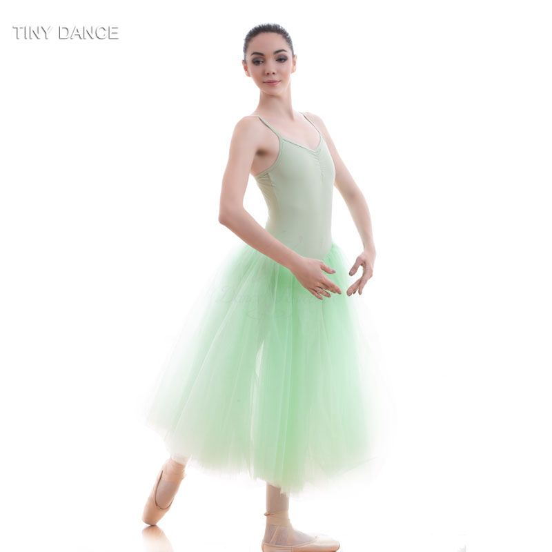 e5b6bcc3a Adult Girls Long Romantic Ballet Dance Tutu for Practice or ...