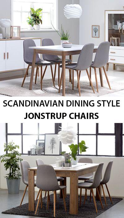 Dining Chair Jonstrup Grey Oak Jysk Dining Room Small Scandinavian Dining Room Dining Chairs