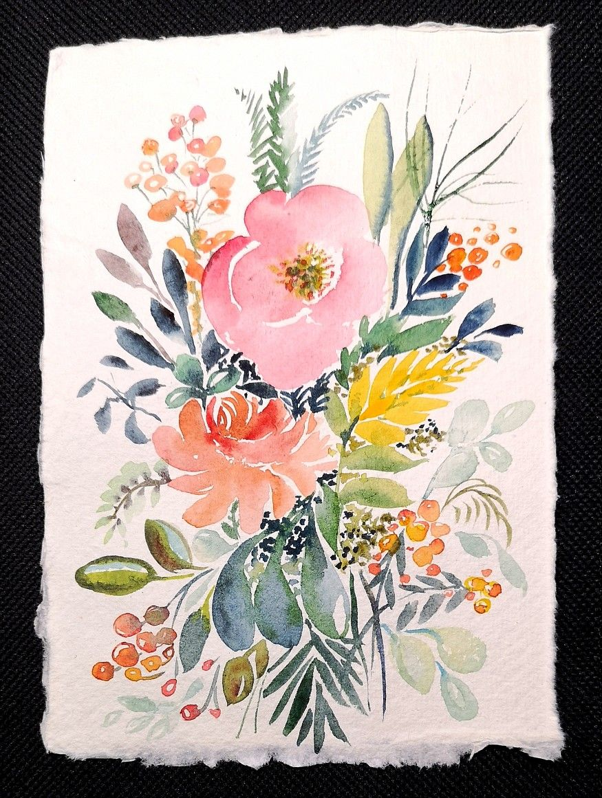 #comefloralwithus #fleursaquarelle #comeflowerwithus #aquarela #artinstagram #watercolor #bouquetdefleurs #bouquet #aquarelle #watercolorpainting #aquarellepainting #rituelaquarellemarie