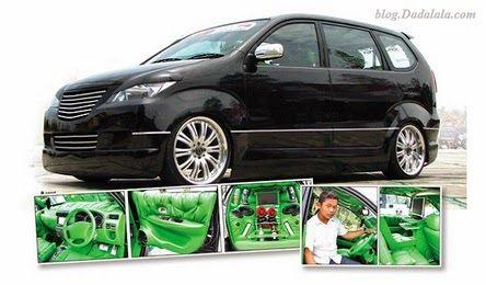 Toyota Avanza Vector By Adry Art Mobil Kertas Dinding