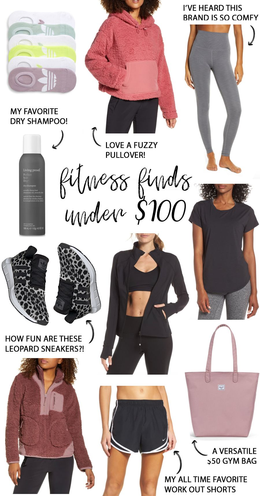 A Mix of Min shares a round up of fitness and athleisure finds that are affordably under $100 like B...