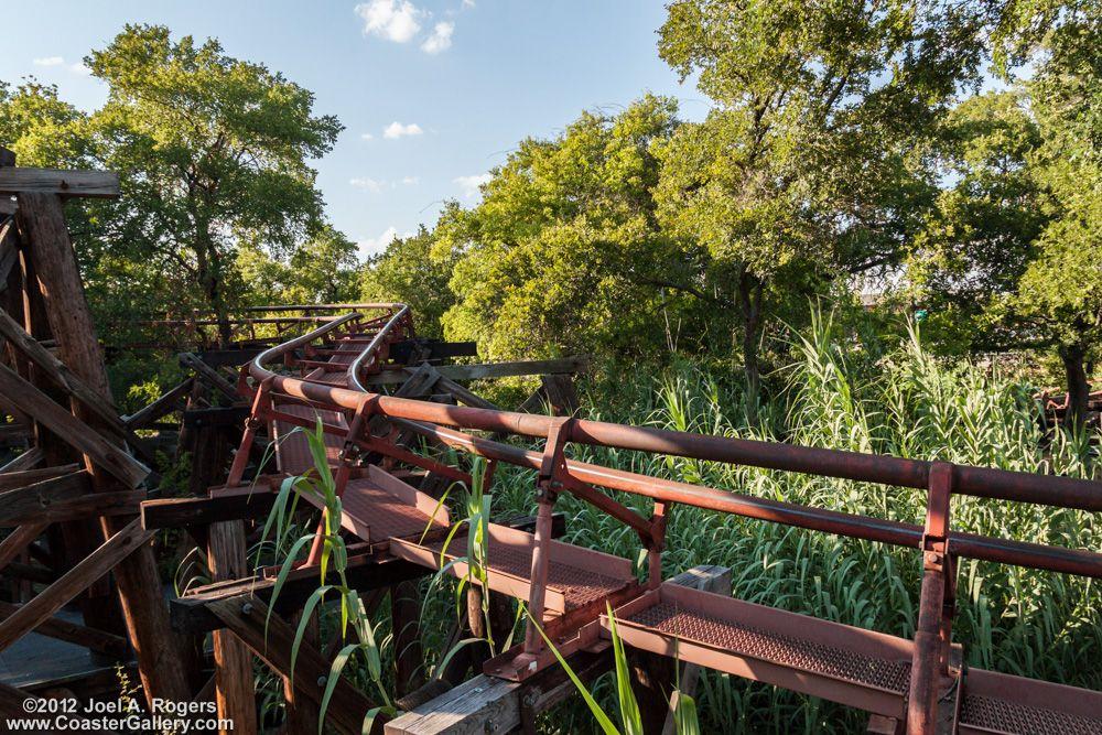 Runaway Mine Train Six Flags Over Texas Six Flags Over Texas Roller Coaster Park Six Flags