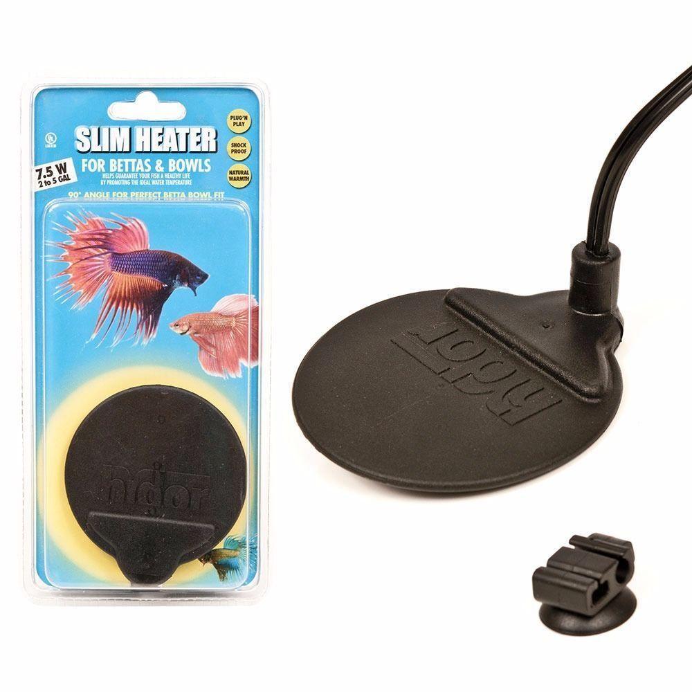 12 97 Hydor 7 5w Slim Submersible Aquarium Heater For