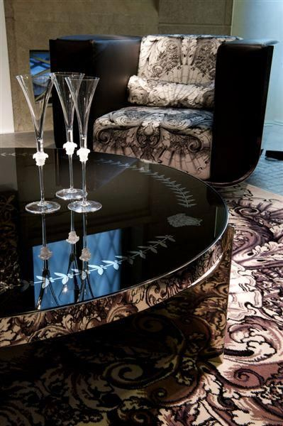 Versace home eclipse coffee table versace home signature for Table versace