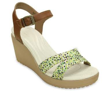 bc055d55a746 Women s Leigh II Ankle Strap Graphic Wedge