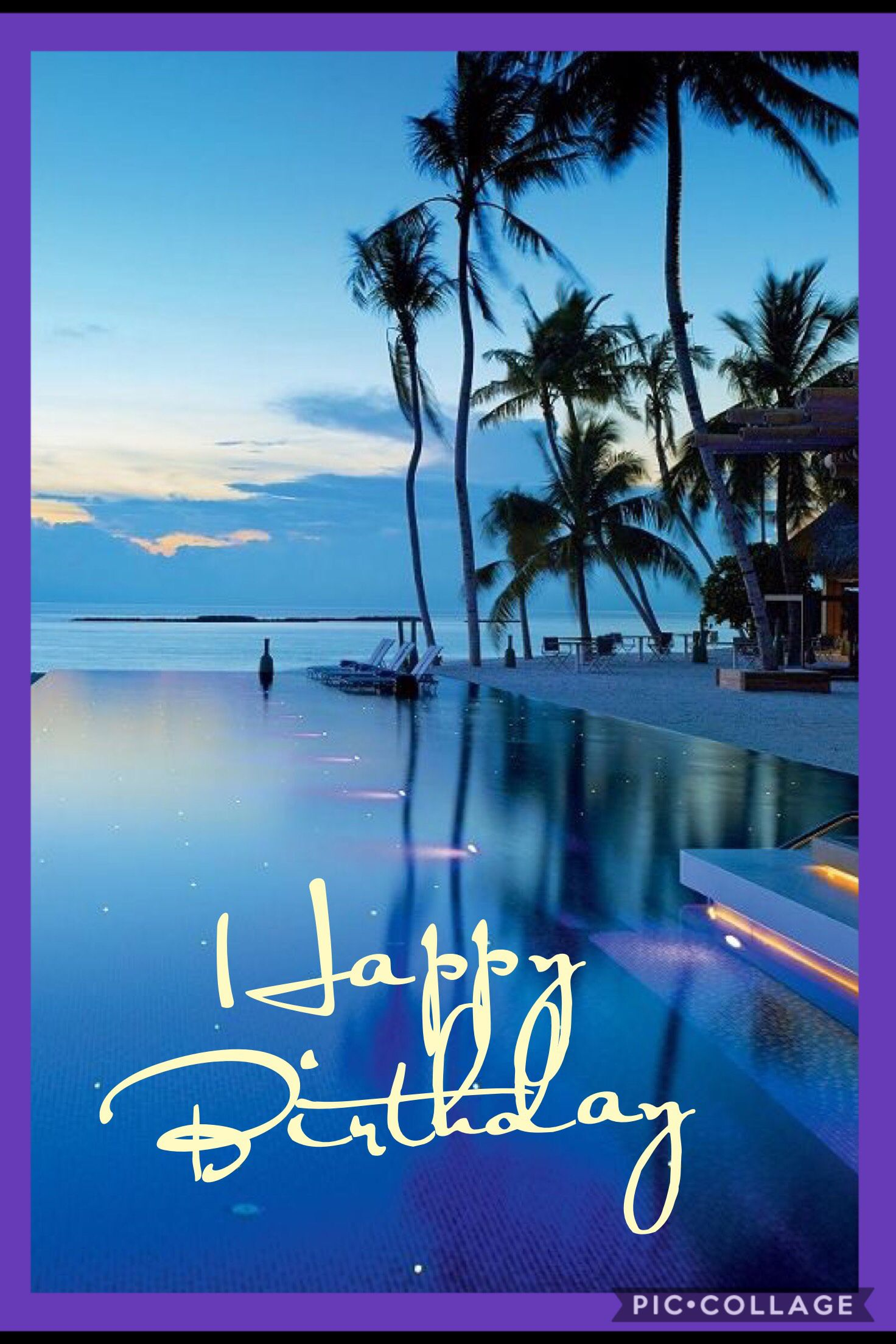 Tropic Bday With Images Happy Birthday Greetings Happy