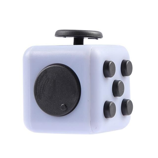 Fidget Cube Squeeze Fun Stress Reliever Gifts Relieves Anti Juguet For Adults Children Figet Handle Desk Spin Toys