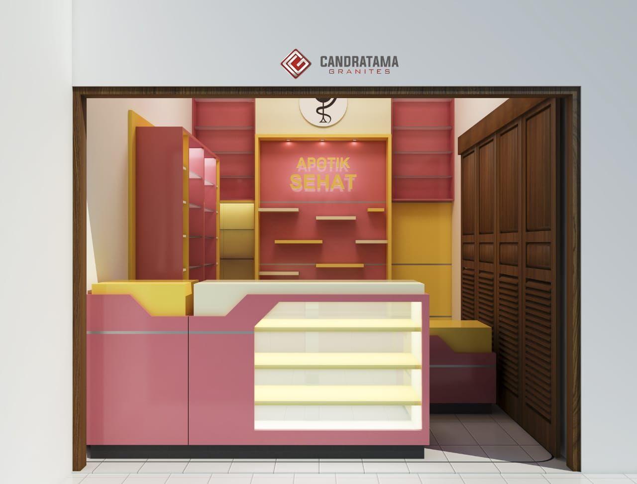 Desain Interior Apotek Modern Cek Bahan Bangunan Desain interior apotek minimalis