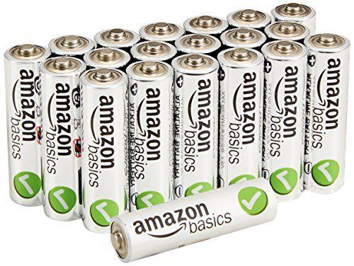 Amazonbasics Aa Performance Alkaline Batteries 20 Pack Http Www Amazoncraze Com Electronics Amazonbasic Alkaline Battery Electronic Accessories Batteries
