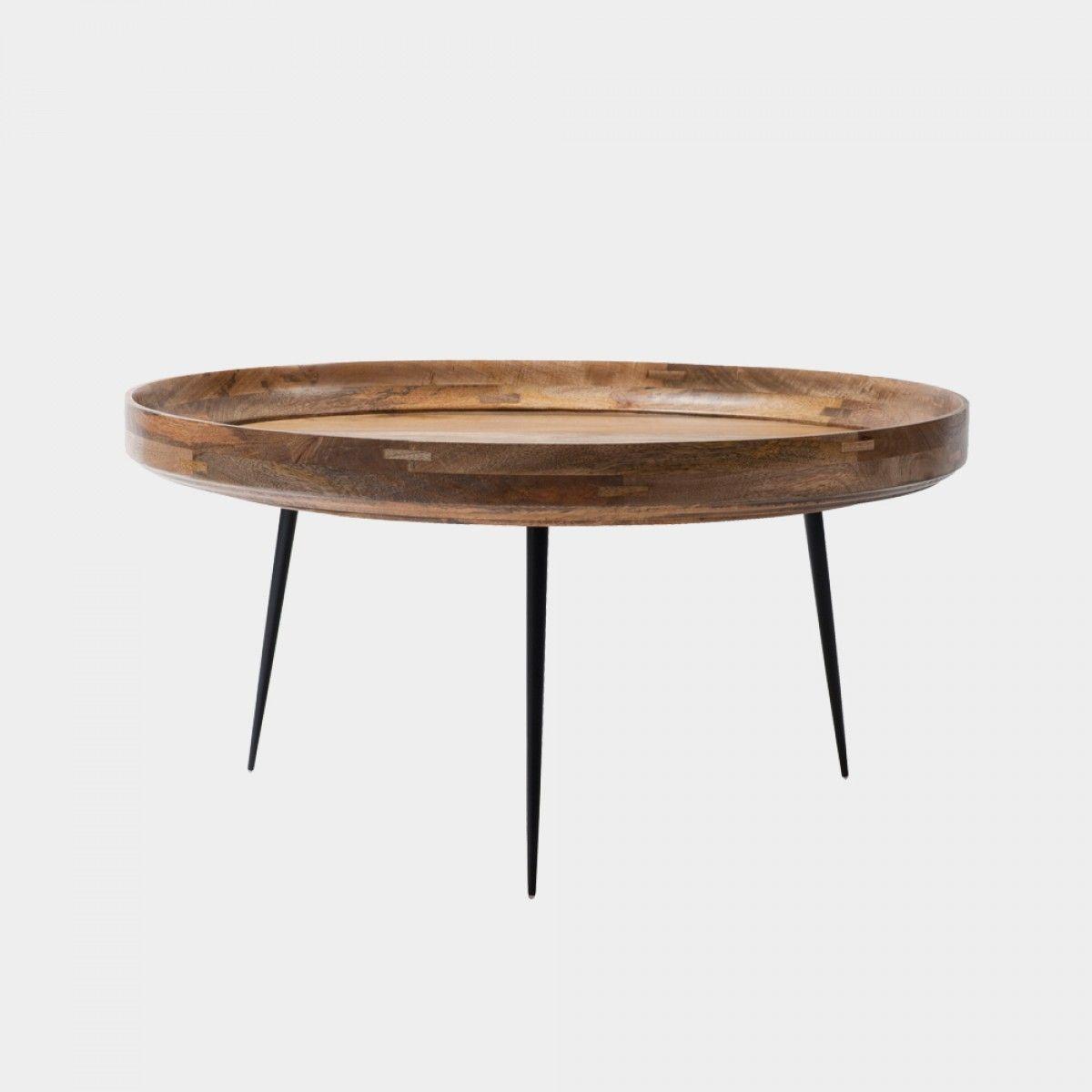 Bowl Coffee Table Natural Designer Ayush Kaliwal From Mater