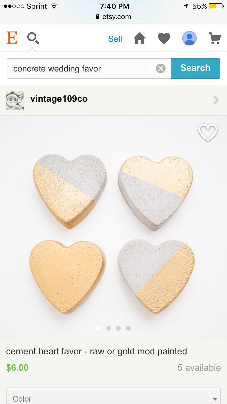 Concrete hearts