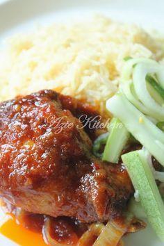 Azie Kitchen Nasi Minyak Azie Kitchen Pork Loin Recipes Kitchen Recipes Cooking Recipes