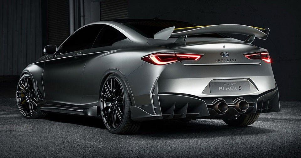 Infiniti Goes Fast N Furious With F1 Style Q60 Black S Hybrid Concept Carscoops Infiniti Upcoming Cars Car Inspiration