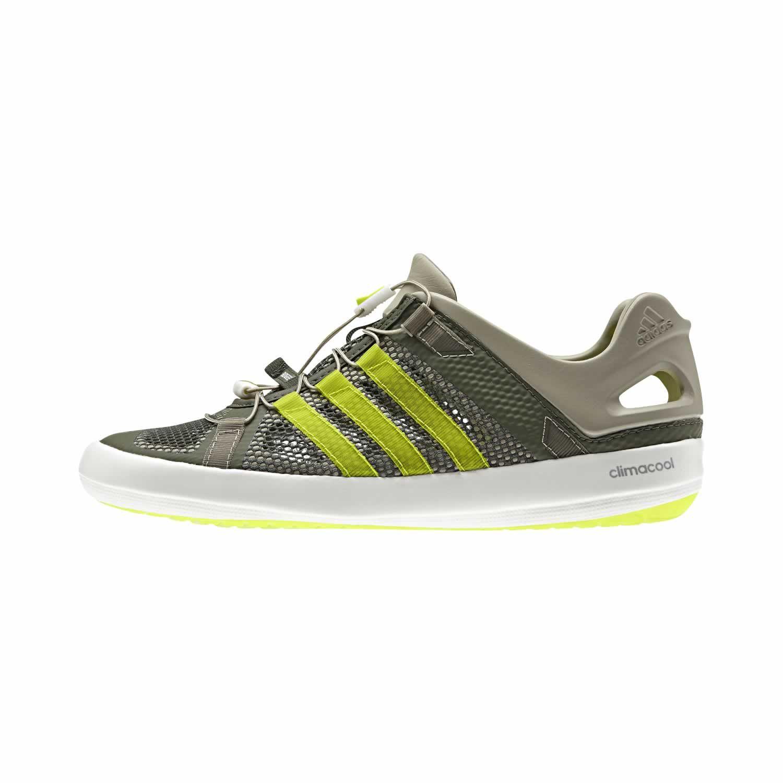 Les #chaussures #green pour homme Climacool Boat Breeze de