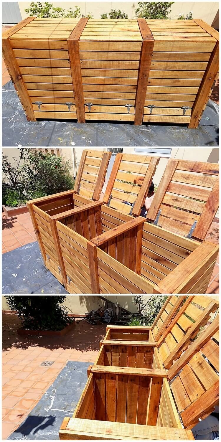 Easiest DIY Projects Using Old Wooden Pallets