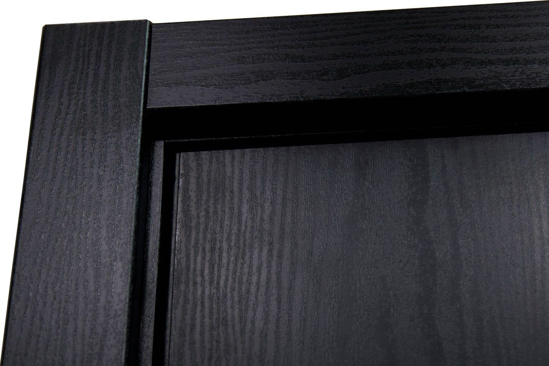 Hg008 Black Ash Interior Door Nova Interior Doors Dunlap Doors