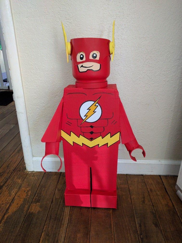 Lego Flash Birthday party decorations | Fiesta de legos