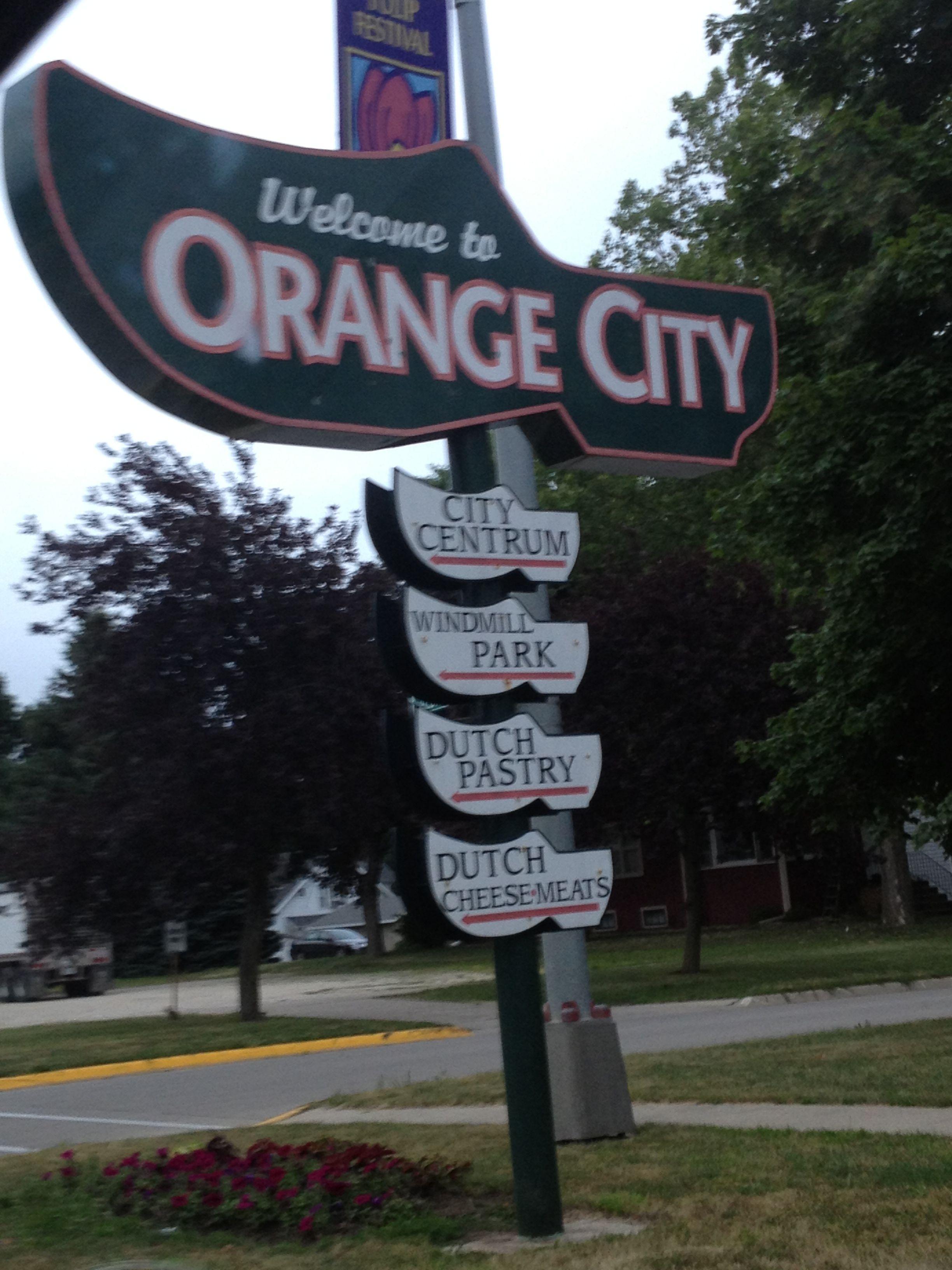 Welcome To Orange City Iowa You Will See Many Dutch Shoes Around