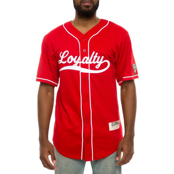 F4mily Matters The Loyalty Baseball Jersey in Red ($77 ...