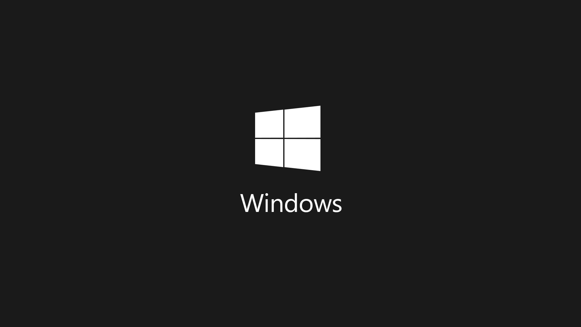 Microsoft Windows logo, Windows logo dark Windows 7