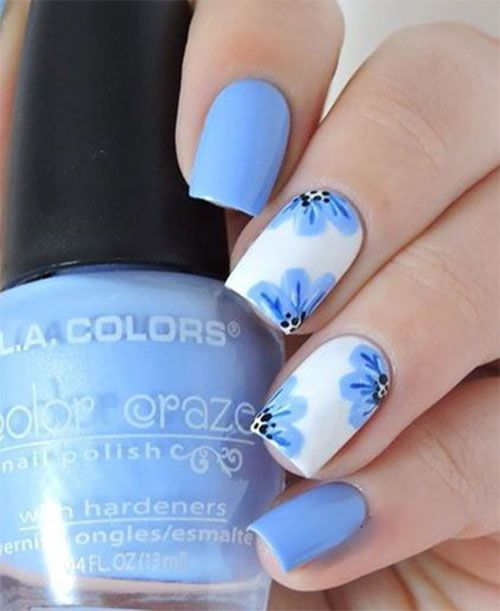 20 Simple Easy Spring Nails Art Designs Ideas 2017 Nail