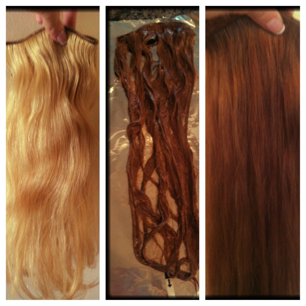 How to dye hair extensions diy pinterest dye hair hair how to dye hair extensions pmusecretfo Image collections