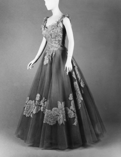Anne Lowe dress ca. 1960 via The Costume Institute of the ...