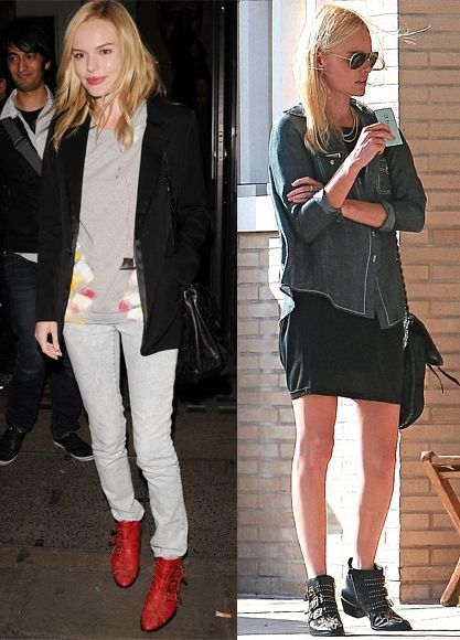 Kate Bosworth in the Jeffrey Campbell Starburst bootie