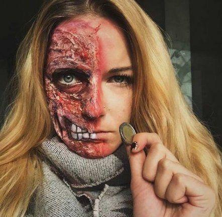 new makeup halloween scary gore 36 ideas makeup