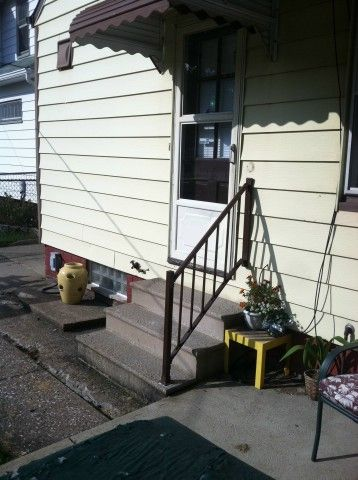 Stair safety rail installed by Fairview Home Improvement. | Railings ...