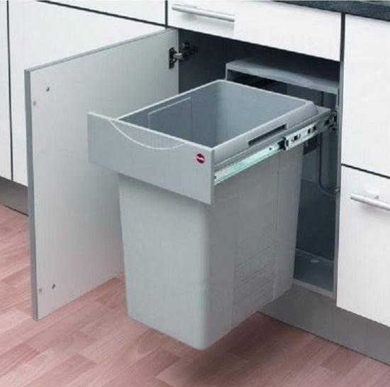 Inbouw Afvalemmer Keuken Idee Keukenkast Keukens