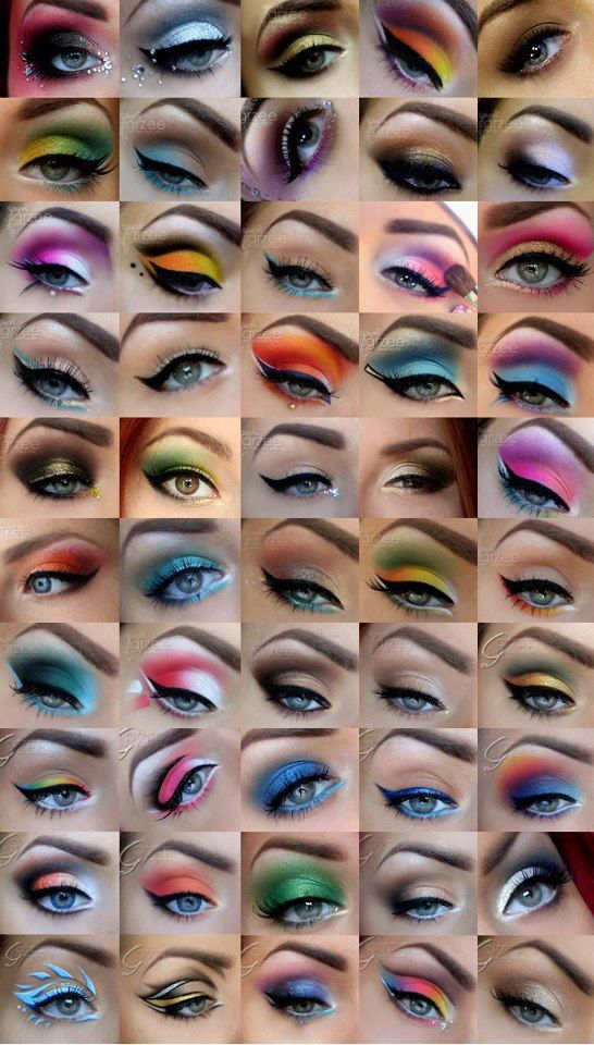 Pin By Chrissy Boyd On Beauty With Images Crazy Eye Makeup