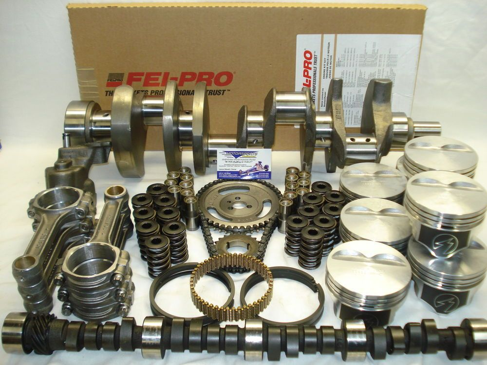 SBC 350 LT1 Master Engine Kit, (Fully Balanced Rotating Assy