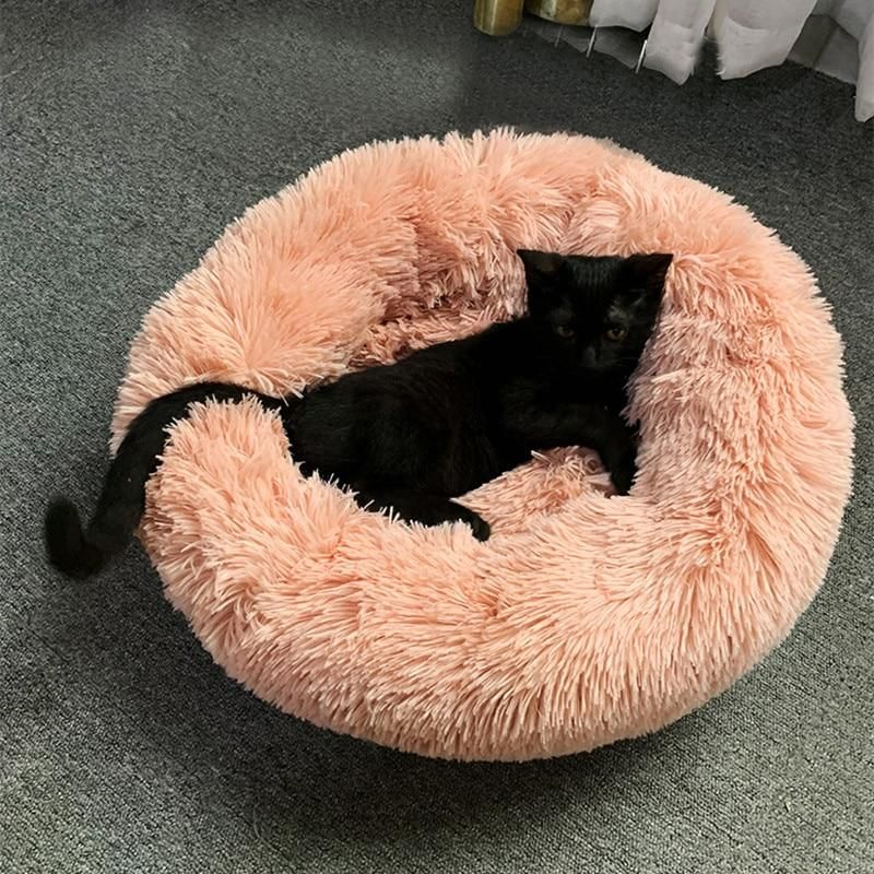 Comfy CALMING DOG/CAT BED Dog cat, Pet beds, Cats