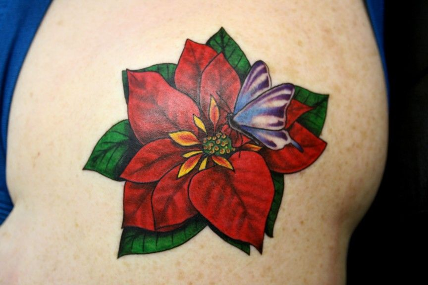 Pin By Pam Weber On Tatoos Birth Flower Tattoos Tattoos Colorful Flower Tattoo