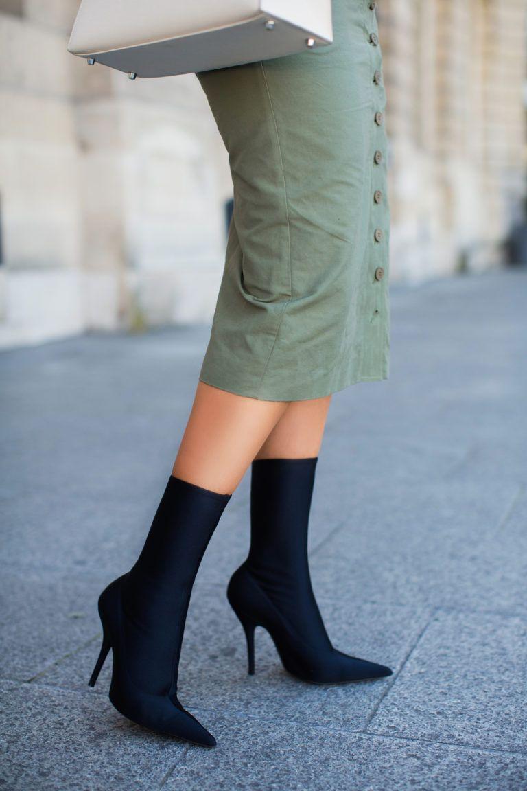 e5cd33fb117 Balenciaga Black sock booties - See more at www.HerFashionedLife.com ...