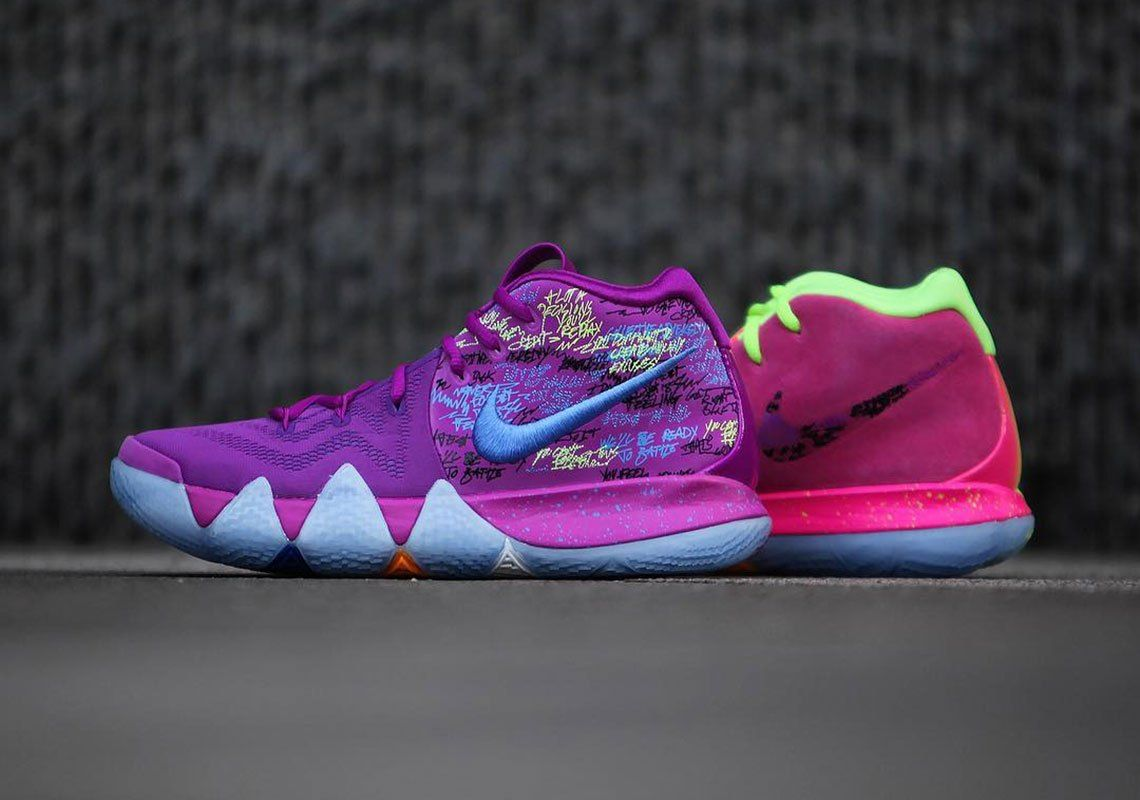 Nike Kyrie 4 Confetti - Release Date +