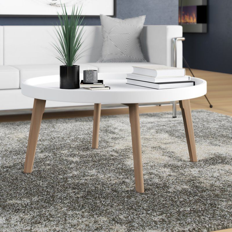 Julianna Raised Edge Coffee Table Small Coffee Table