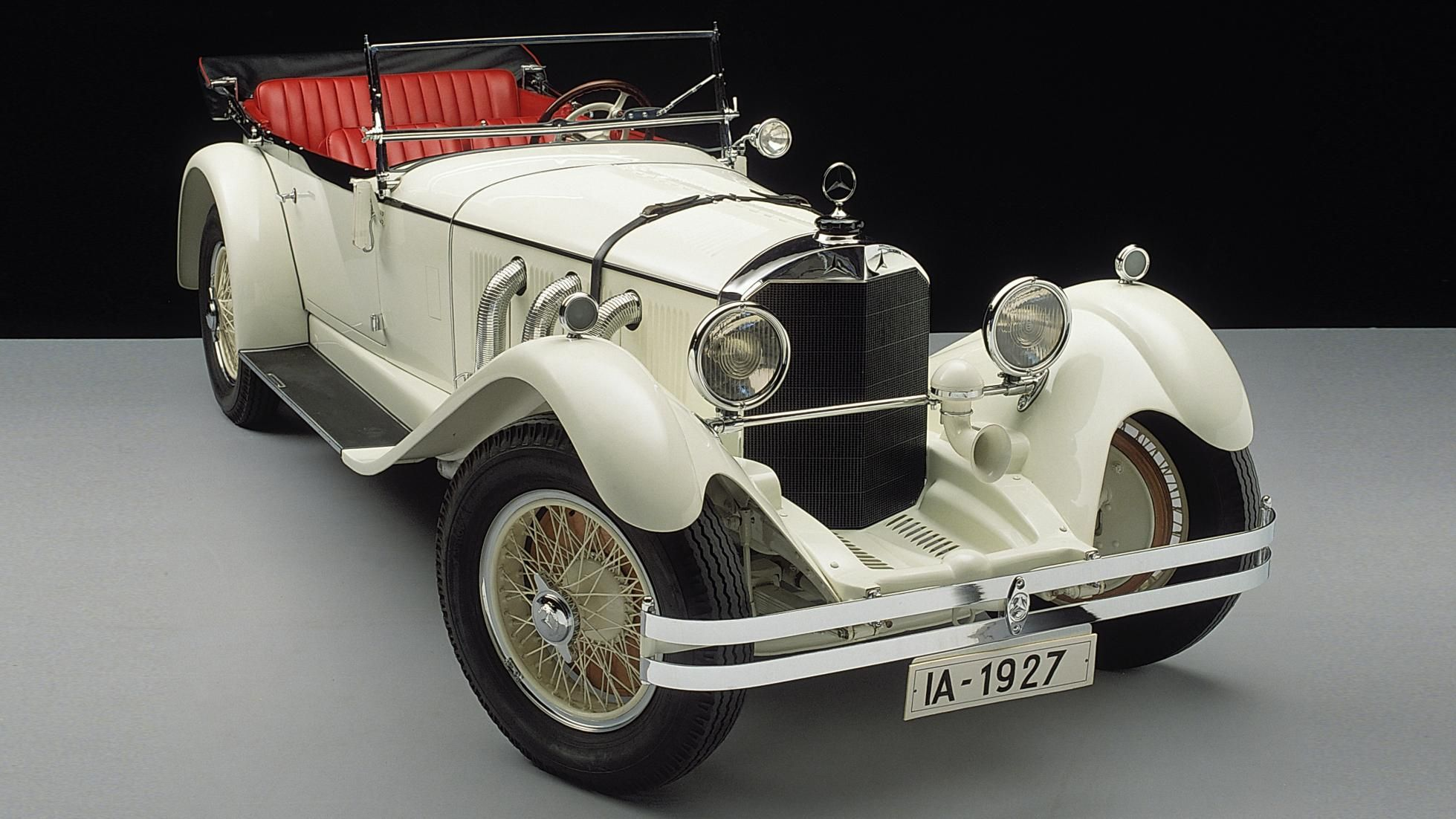 This Mercedes won the Nürburgring's very first race