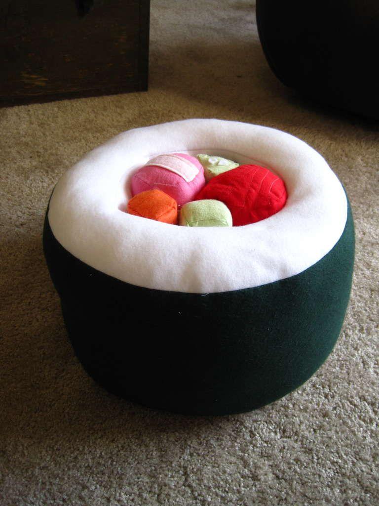 Sushi Pillow Plushie