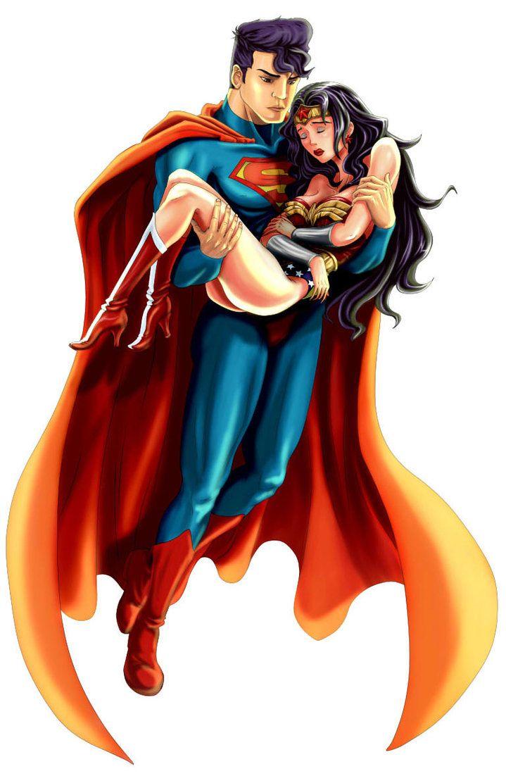 Wonder woman loves superman