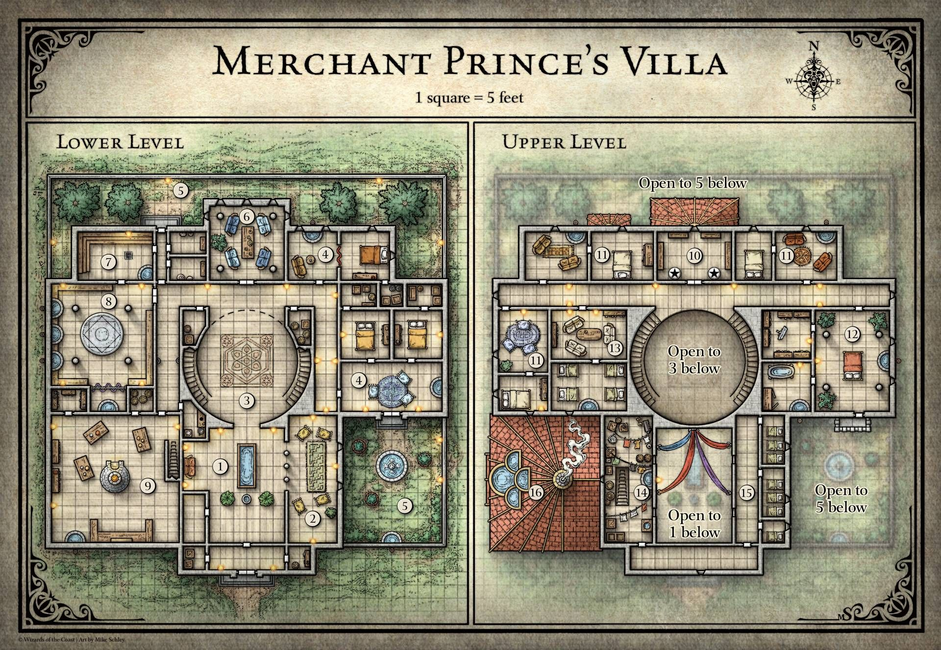 d&d mansion map - Google Search | Fantasy map, Pathfinder ... on