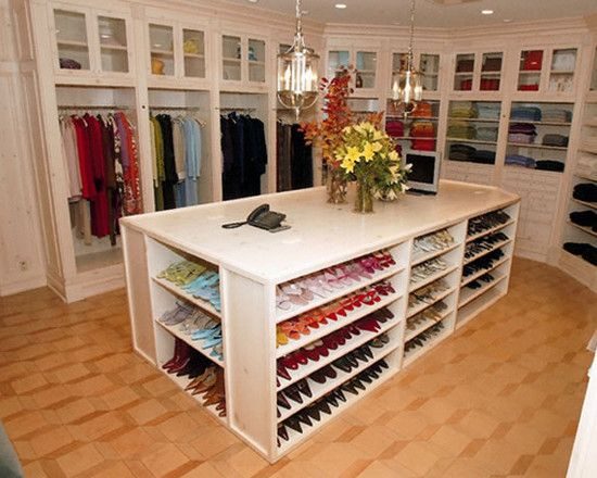 Master closet - shoes!