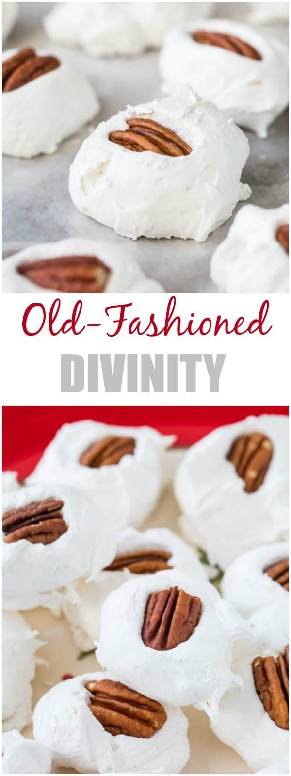 Old-Fashioned Divinity + Video | Recipe | Christmas | Pinterest ...