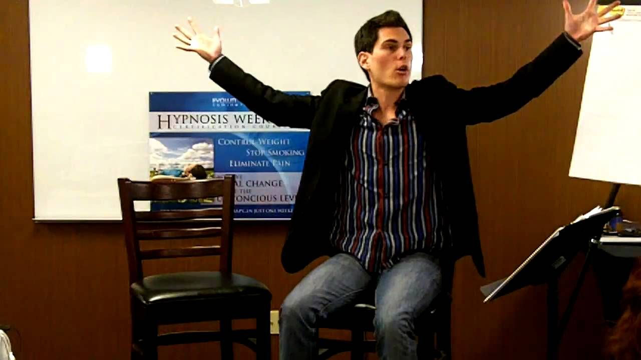 How To Hypnotize Yourself in less than 1 min!! Hypnotize