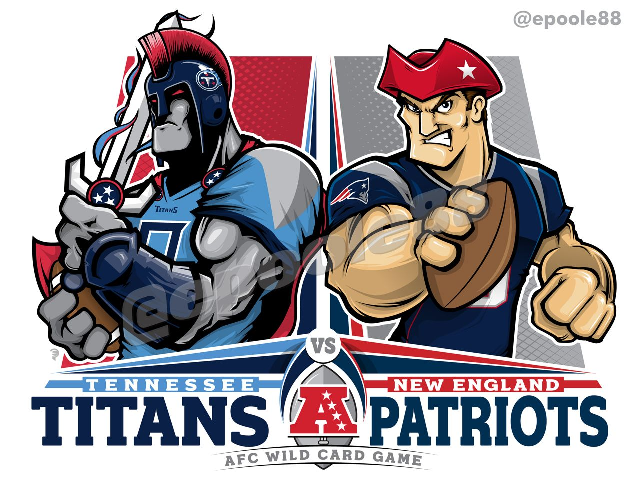 2019 Nfl Afc Wildcard Game Tennessee V New England Titans Gopats Nfl In 2020 Nfl Logo Nfl Uniforms Patriots