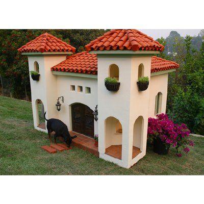 Mexican Hacienda Dog House I Love It Cool Dog Houses Dog