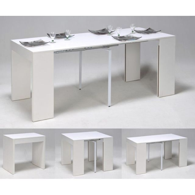 le top extendy extendy table console extensible 2 8 couverts bois blanc appart pinterest. Black Bedroom Furniture Sets. Home Design Ideas