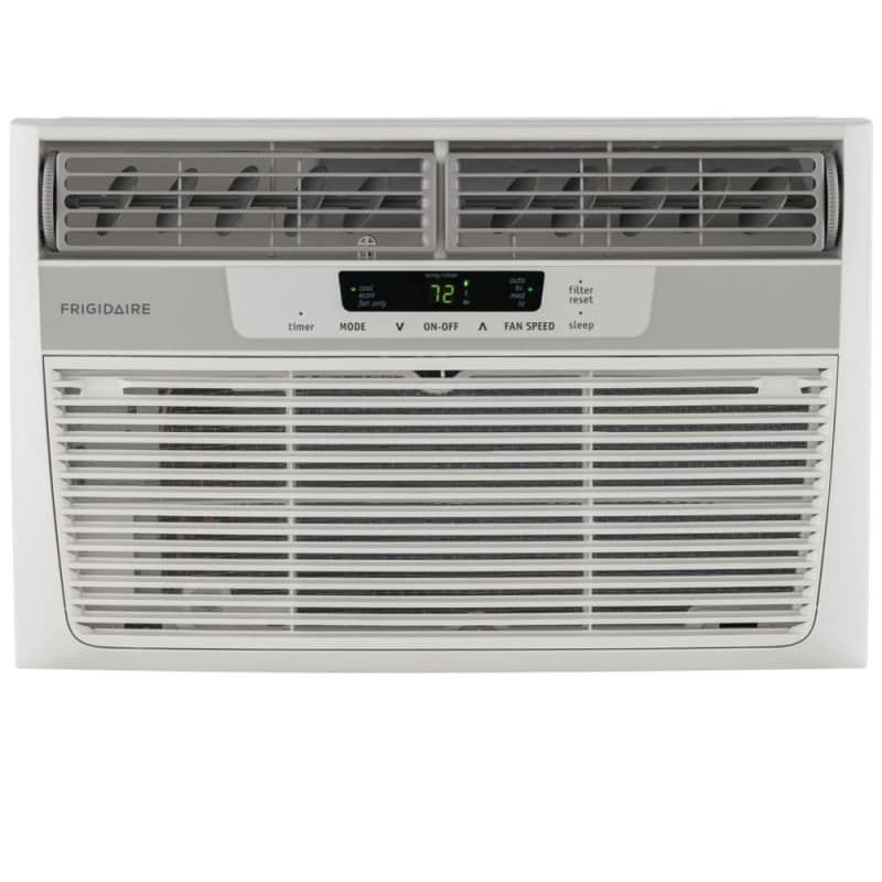 Frigidaire Ffra2822r2 28000 Btu Window Mounted Electric Air Conditioner With Pro White Air Conditioners Air Conditioner Cool Only Compact Air Conditioner Window Air Conditioner Heating Cooling